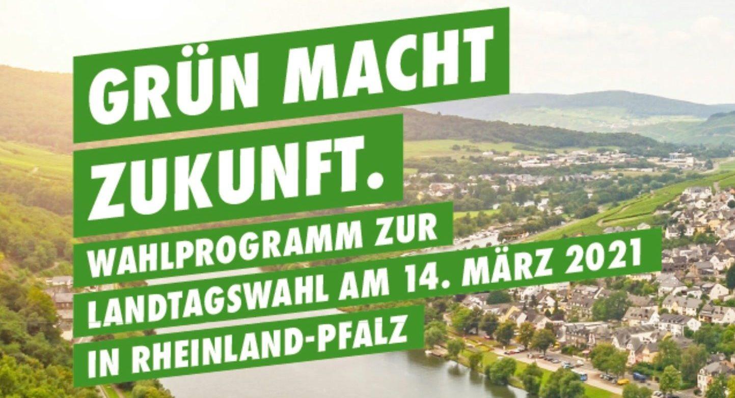Wahlaufruf für die Landtags-Wahl in Rheinland-Pfalz am 14. März 2021